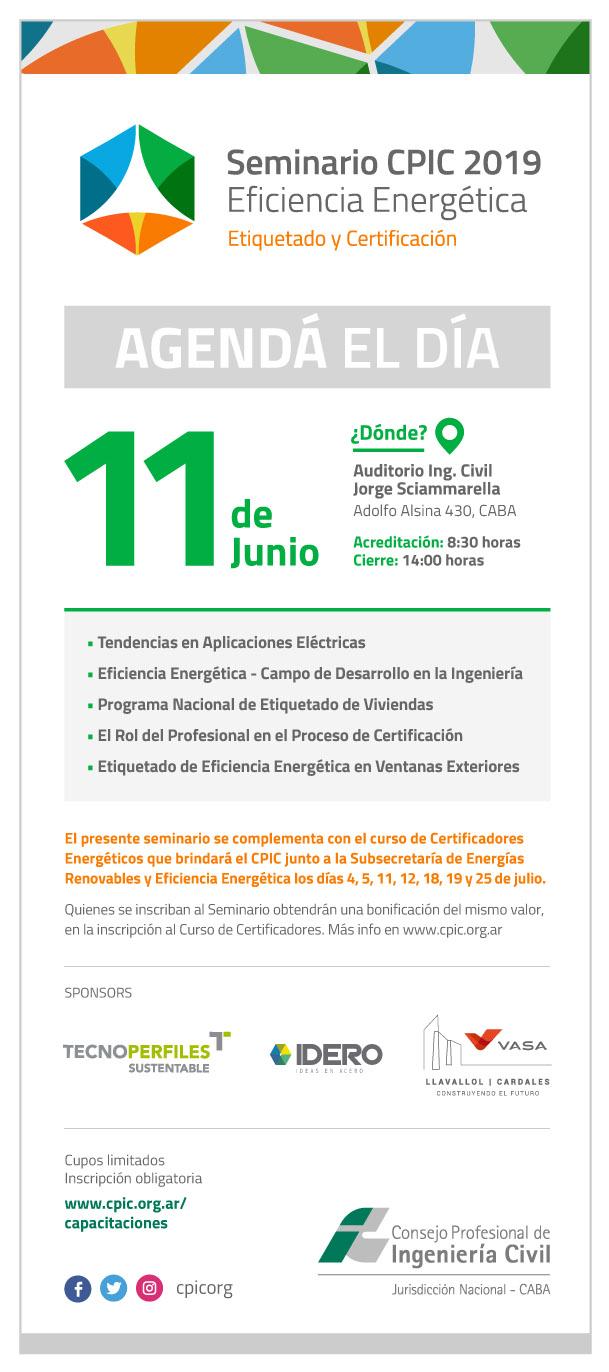 TECNOPERFILES :: - Seminario CPIC 2019 sobre Eficiencia