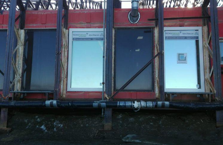 Segunda etapa de modernización y optimización energética en Base Marambio