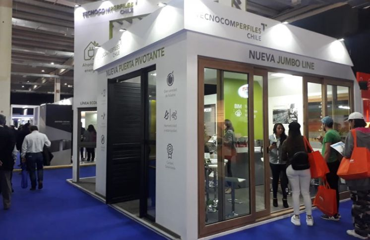 TECNOPERFILES presente en EDIFICA 2019